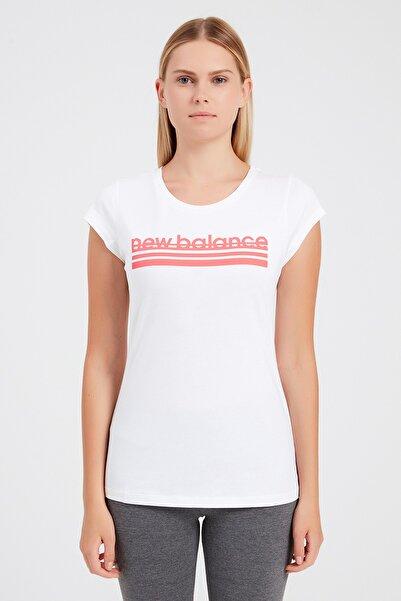 New Balance Kadın T-Shirt - NB VOM TEE - V-WTT918-WT