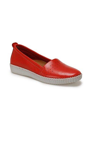 Polaris 103097.Z Kırmızı Kadın Comfort Ayakkabı 100529755