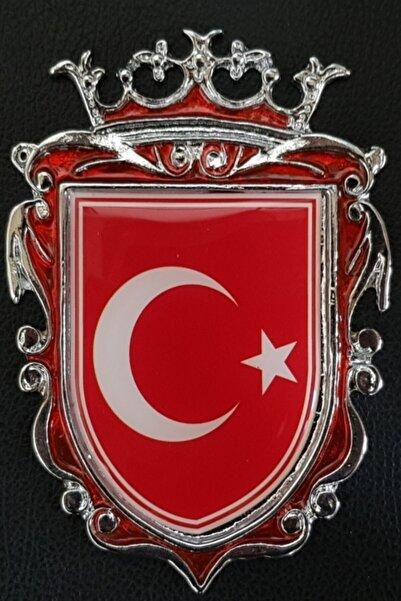 Sedef Döküm Arma Türk Bayrağı