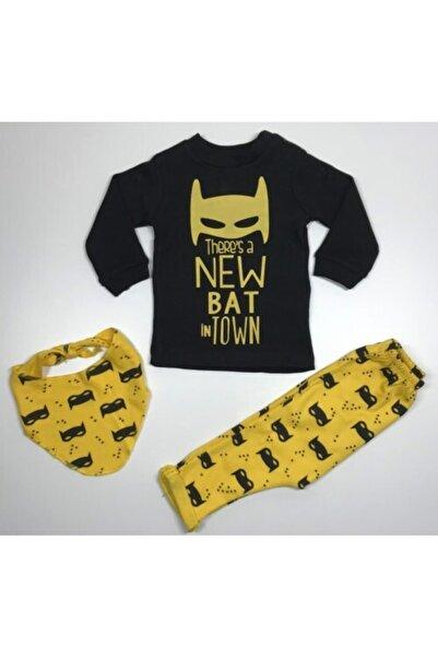 Zeyn Erkek Bebek Sarı Batman Takım