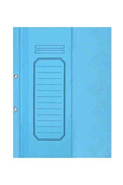 Alemdar Yarım Kapaklı Karton Telli Dosya Lüks Mavi 25li Paket