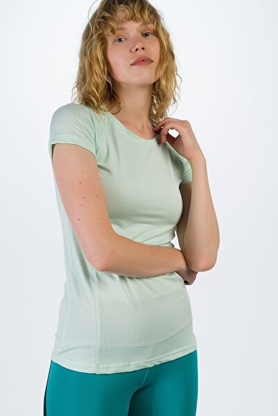 Runever Kadın Su Yeşili T-shirt