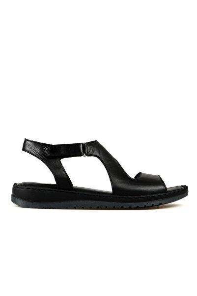 Hammer Jack Kadın Siyah Sandalet 204 17-z