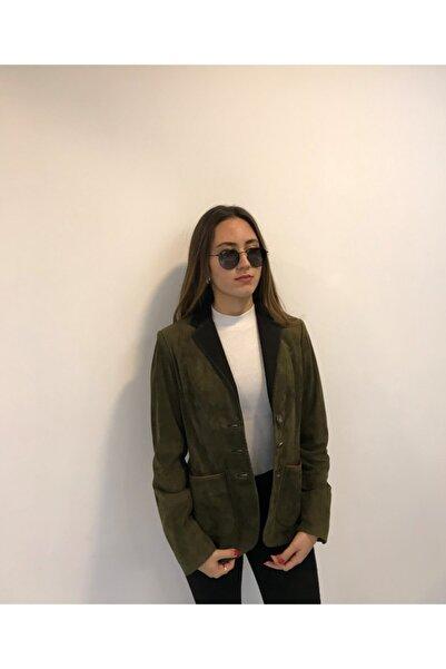 ASUS Kadın Haki Ceket