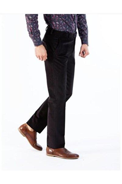 Eddy Magıc Erkek Siyah Kadife Pantolon