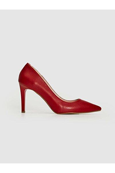 LC Waikiki Kadın Kırmızı Topuklu Ayakkabı