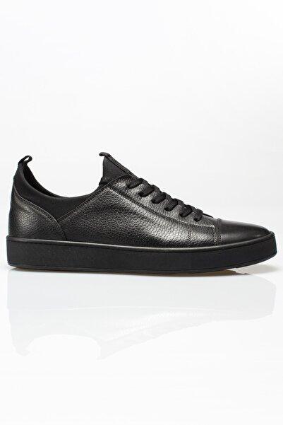 Alba Erkek  Siyah Norris Hakiki Deri Ayakkabı
