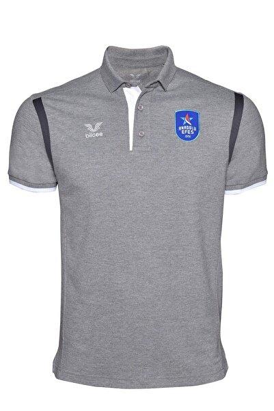 bilcee Anadolu Efes Gri Antrenman Polo Yaka Tshirt-AE-0942