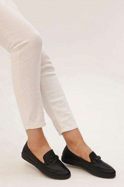 Marjin Kadın Dinkar Hakiki Deri Comfort Ayakkabı