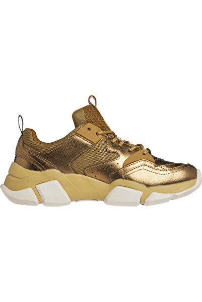 Tommy Hilfiger Kadın Altın Renk Sneaker Metallıc Tommy Chunky
