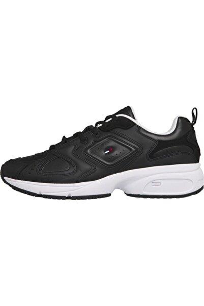 Tommy Hilfiger Erkek Siyah Sneaker Herıtage Tommy Jeans