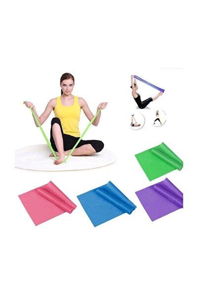 Otantik Pilates Bandı Plates Bantı Egzersiz Lastiği Yoga Egzersiz Bandı