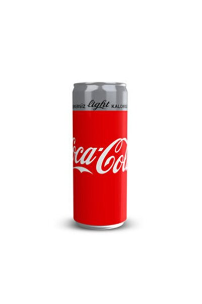 Coca-Cola Coca Cola Light Kutu 330 ml 24'lü Koli