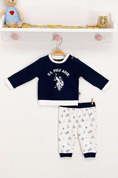 U.S. Polo Assn. U.S. Polo Assn Lisanslı Lacivert Bebek Takım
