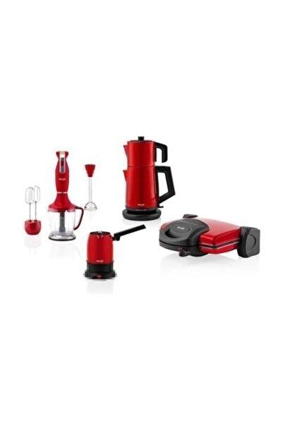 Taç Kırmızı Life Multi Blender Seti Tac-7808