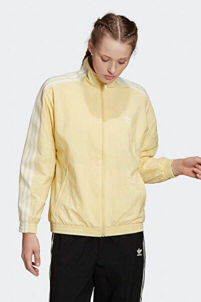 adidas Kadın Spor Sweatshirt - Nylon Track Top - FM7179