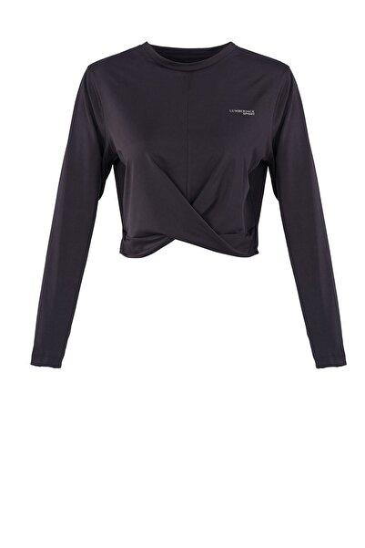 lumberjack Kadın Siyah Uzun Kollu T-shirt