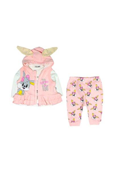 İmaj Bebek Tavşan Kız 3'lü Takım