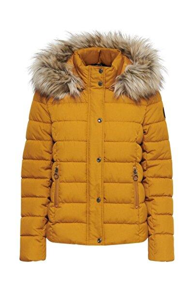 Jack & Jones Kadın Sarı Only Onlluna Quılted Jacket Cc Otw Kaban 20k 15205635
