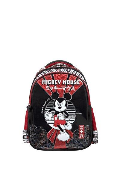 Mickey Mouse Erkek Çocuk Due Powe Up Ilkokul Çantası 5188
