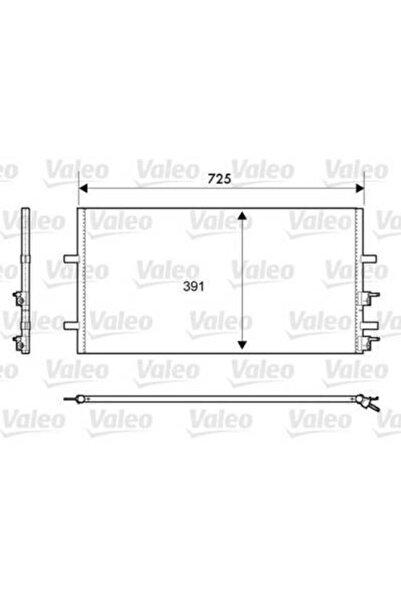 VALEO Kondanser Klima Radyatörü ( Ford: Transit 2.2tdi V347 06-) - Val-814087