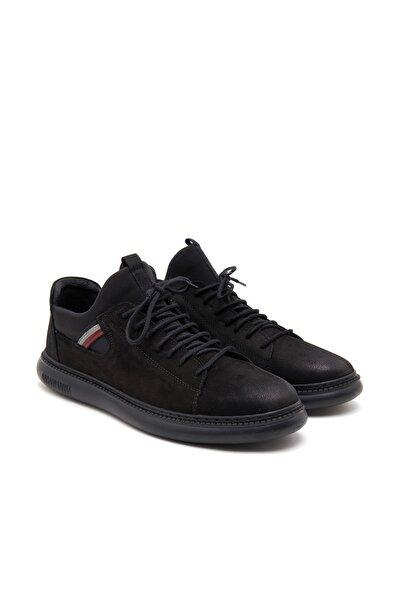 Desa Siyah Feliciano Erkek Deri Günlük Ayakkabı 91195
