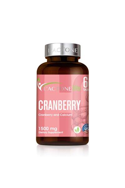 L'ACTONE Life Cranberry 1500 mg 60 Kapsül