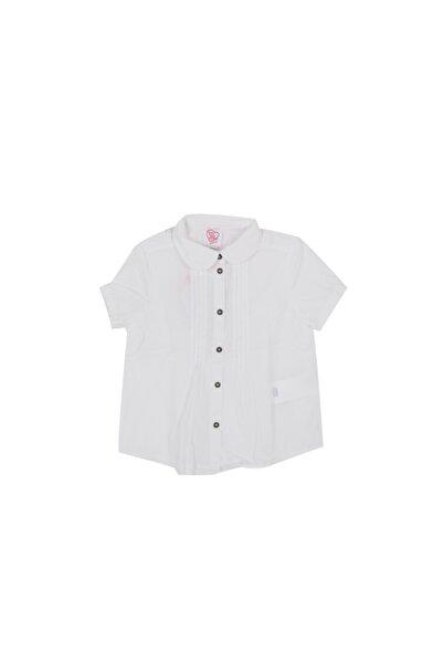 Chicco Unisex Çocuk Beyaz Günlük Gömlek 9054259-033