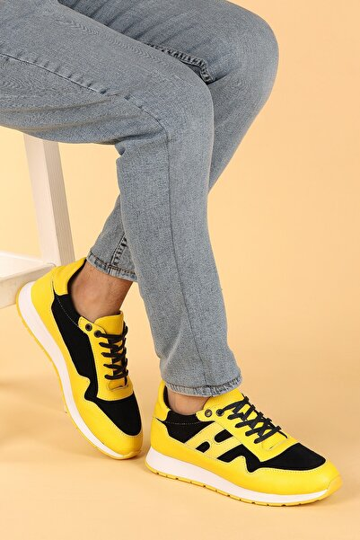 Ayakland Erkek Sarı Spor Ayakkabı