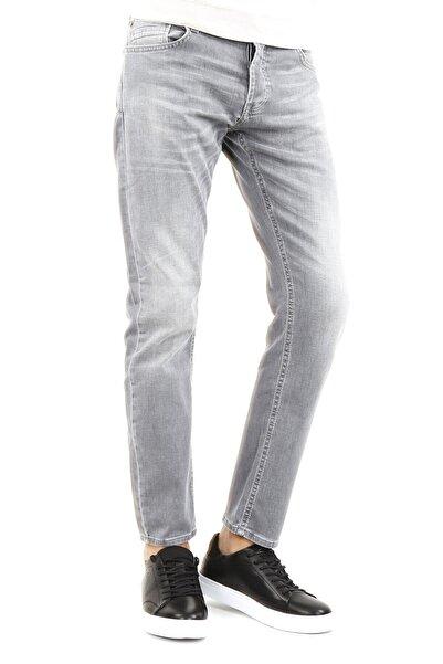 Jakamen Regular Fit Serili Kot Pantolon 5 Cep Serili