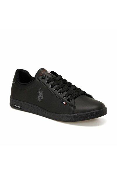 U.S. Polo Assn. Erkek Siyah Günlük Sneaker