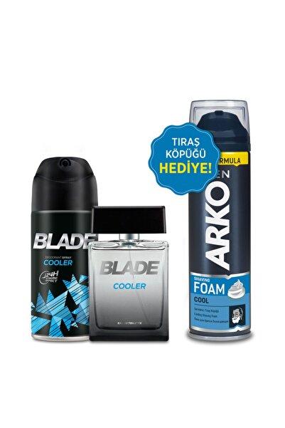 Blade Cooler Erkek Edt Parfüm 100 ml  Deodorant150 ml  Arko Men Tıraş Köpüğü 200 ml