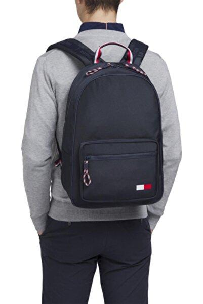 Tommy Hilfiger Erkek Lacivert Backpack Sırt Çantası