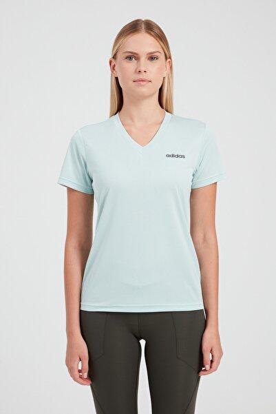 adidas Kadın Spor T-Shirt - W D2M Solıd T