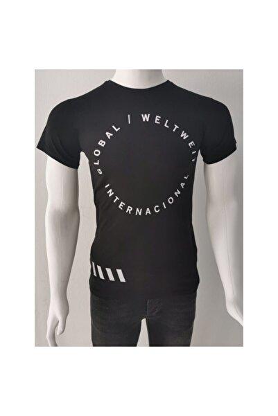 Ceo Erkek Siyah T-shirt