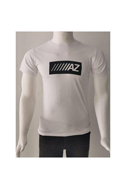 Ceo Erkek Beyaz Basic T-shirt