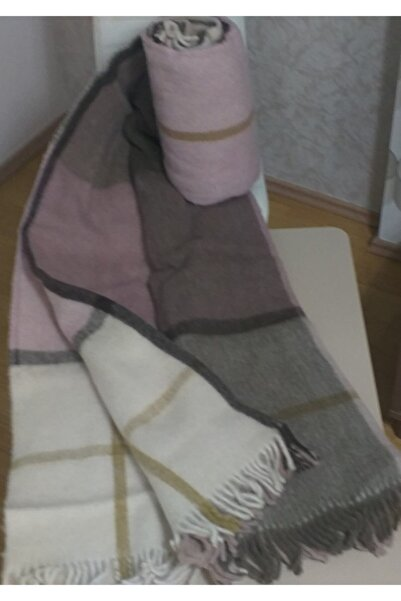 Selin Gençev Home && %100 Saf Yün Scotch Battaniye Battal Boy & Yün Battaniye - % 100 Saf Yün - Wool