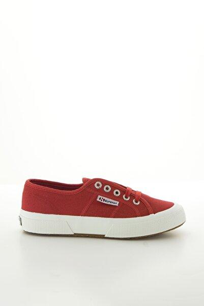 Superga Kids Kadın Kırmızı Sneaker Ayakkabı
