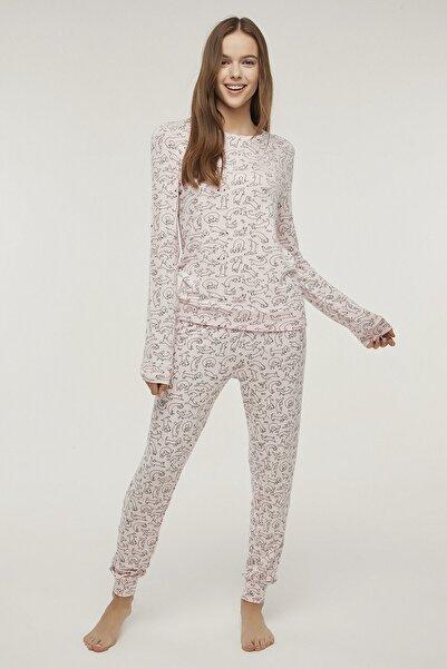 Penti Orchid Cute Dog Pijama Takımı