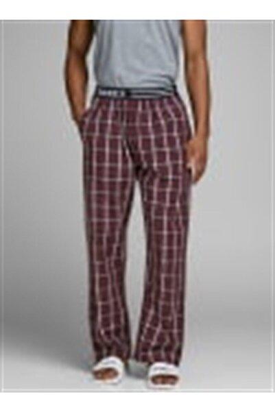 Jack & Jones Erkek Siyah Desenli Jacnıghtwear Pants
