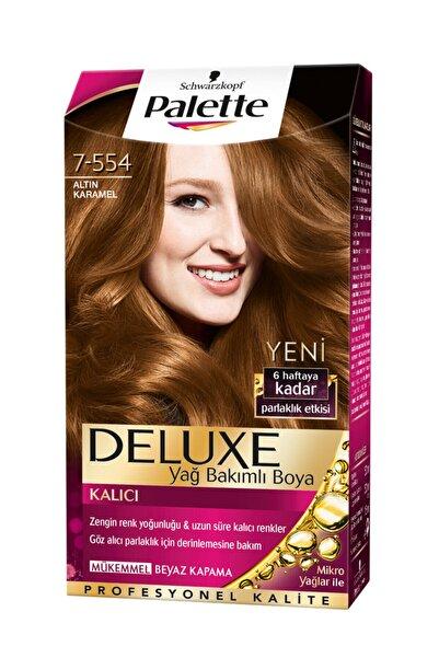 SCHWARZKOPF HAIR MASCARA Saç Boyası 7-554 Altın Karamel