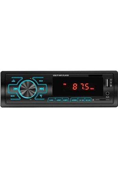 Moonstar Bms-38 Araba Oto Teyp Radyo Bluetooth+2 Çift Usb/sd/aux+telefon Şarj+rgb Tuş Işığı App Konrol