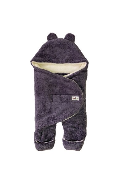 Owli Unisex Bebek Mor Kışlık Dış Kundak Battaniye