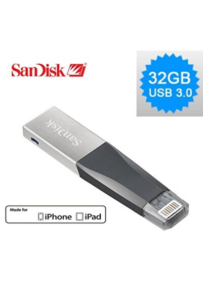 SanDisk 32gb Iphone Ve Ipad Ixpand Usb Flash Bellek Sdıx40n-032g-gn6nn