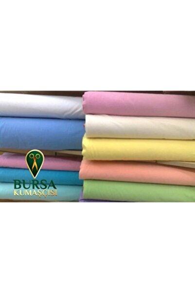 Bursa Kumaşçısı Pazen - Flanel Kumaş Düz Renk Beyaz