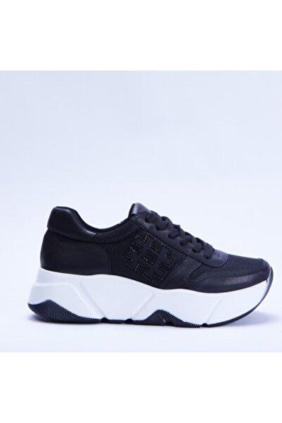 Santa Barbara Polo & Racquet Club Kadın Siyah Sneaker