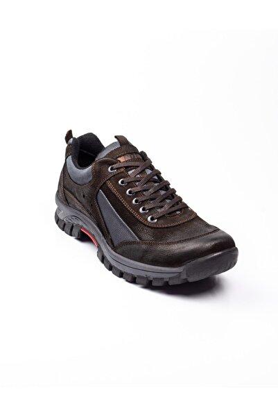 Bulldozer Erkek Kahverengi Deri Outdoor Ayakkabı