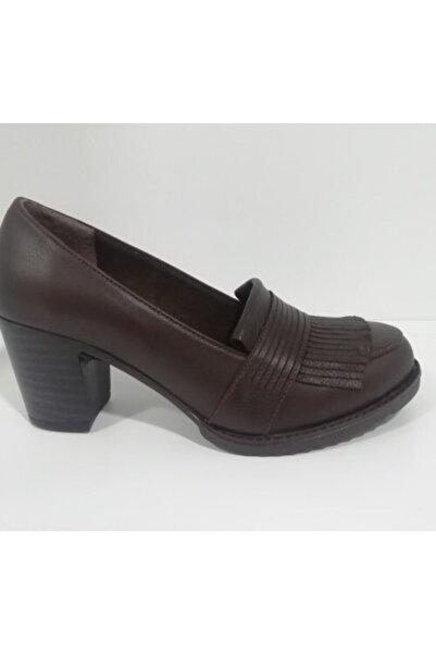 Sedef Kadın Kahverengi Ayakkabı