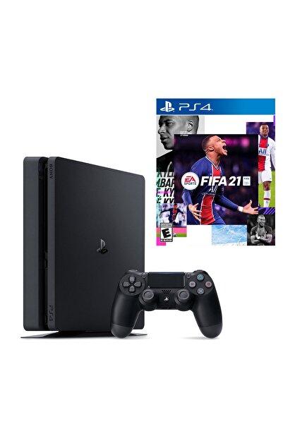 Sony Playstation 4 Slim 500 GB + PS4 Fifa 2021