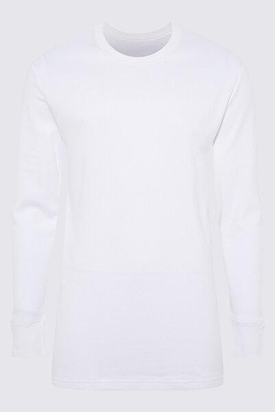 Marks & Spencer Erkek Beyaz Uzun Kollu Termal Atlet T14008813H